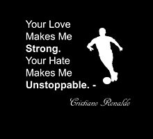 Cristiano Ronaldo Quote by AlexanderMack