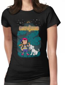 Comet on Onett Womens Fitted T-Shirt