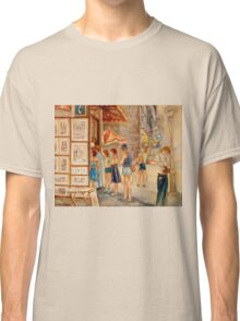 OLD MONTREAL PAINTINGS CANADIAN ART BY CANADIAN ARTIST CAROLE SPANDAU Classic T-Shirt