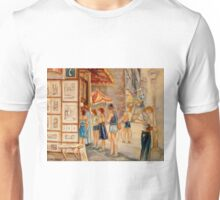OLD MONTREAL PAINTINGS CANADIAN ART BY CANADIAN ARTIST CAROLE SPANDAU Unisex T-Shirt