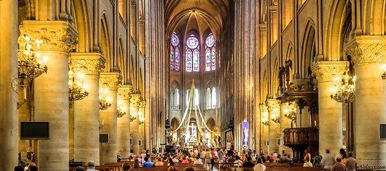 Notre Dame, Paris 3 by John Velocci