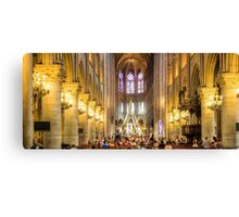 Notre Dame, Paris 3 Canvas Print