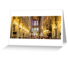 Notre Dame, Paris 3 Greeting Card