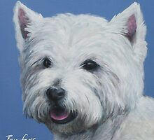 Westie Painting by Ben Farr