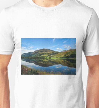 Lovely Scottish Scenic Landscape Reflection Unisex T-Shirt