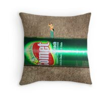BREAKING NEWS--this just in......photos from the surface of the comet! Throw Pillow