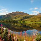 scenic scotland landscape highlands loch by Noel Moore Up The Banner Photography