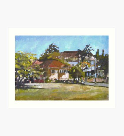Windsor Landscape Art Print