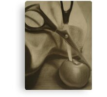 Apple Slice Canvas Print