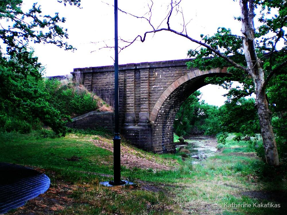 Train Bridge by Katherine Kakafikas