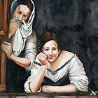 Italian Ladies Mural by Elizabeth Heath