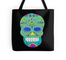 Sugar skull mexican folk art Tote Bag