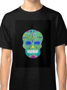 Sugar skull mexican folk art Classic T-Shirt