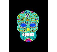 Sugar skull mexican folk art Photographic Print