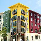 7-11 building Little Italy, San Diego by Elizabeth Heath