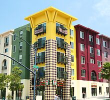 7-11 building Little Italy, San Diego by Elizabeth Heath