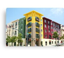 7-11 building Little Italy, San Diego Canvas Print