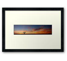 Embers Framed Print