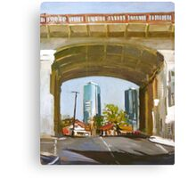 Beneath The Bridge Canvas Print