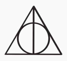 Harry Potter Deathly Hallows symbol Kids Clothes