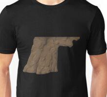 Glitch Groddle Land cliff cover door offside g1 Unisex T-Shirt