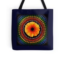 Crazy Daisy Tote Bag