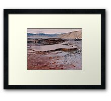 Mammoth Hot Springs, Yellowstone Framed Print
