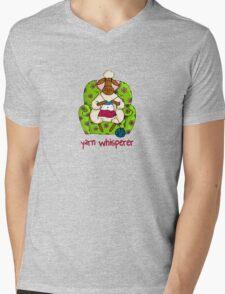 Yarn whisperer Mens V-Neck T-Shirt
