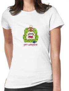 Yarn whisperer Womens Fitted T-Shirt