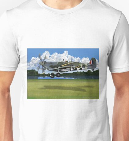 Mk IX RAF Supermarine Spitfire Unisex T-Shirt
