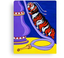 The Caterpillar and Hookah Canvas Print