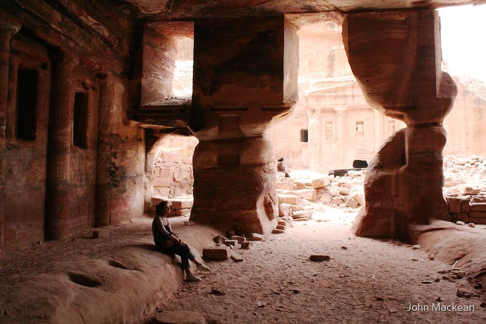 Jordanian Cave by John Mackean