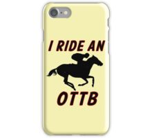 OTTB iPhone Case/Skin