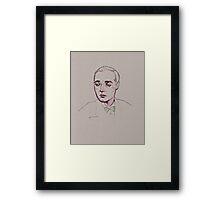 Peter Lorre- Casablanca Framed Print
