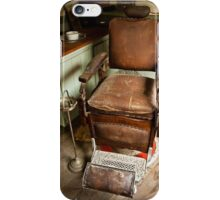 The Old Barber's Chair iPhone Case/Skin