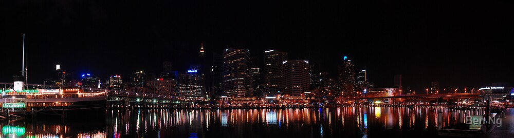 Panorama of Sydney CBD from Darling Harbour by Ben Ng