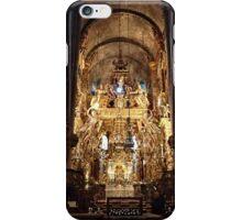 The altar of St James in Santiago de Compostela 01 iPhone Case/Skin