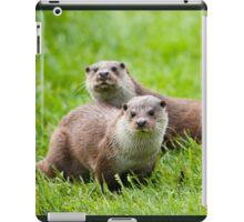 European otters iPad Case/Skin