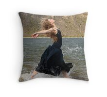 We can Walk on Water Throw Pillow
