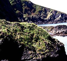 Tunnel Beaches Ilfracombe by muddypainter