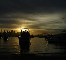 Sydney at Twilight by Kewe