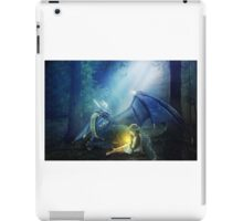 Girl with a dragon iPad Case/Skin