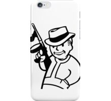 Old Fashioned Gangster iPhone Case/Skin
