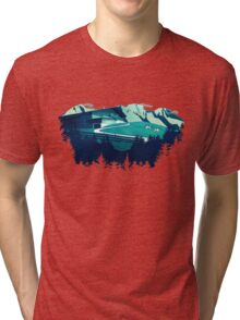Alpine Hut Tri-blend T-Shirt