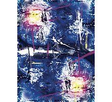 Grunge Nebula Photographic Print