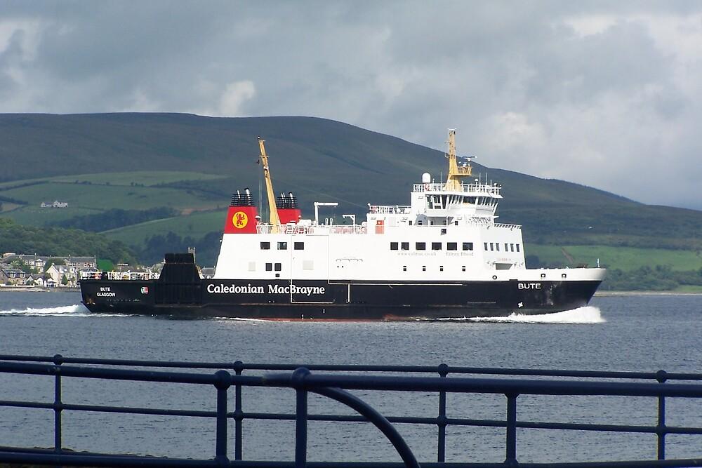 Bute Ferry by Bob Paterson