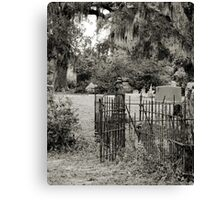 """'St. Andrew's Cemetary"""" Canvas Print"""