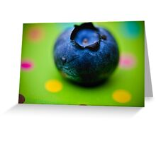 The First Blueberry Greeting Card