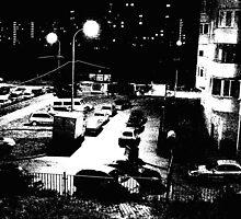 Moscow midnight by Vyacheslav Sergeev