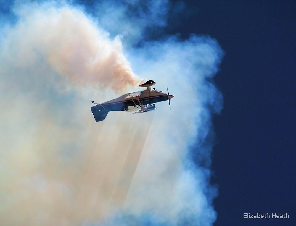 Falling through the smoke by Elizabeth Heath
